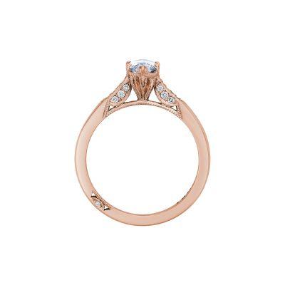 Tacori 2651MQ10X5-PK Rose Gold Marquise Engagement Ring side