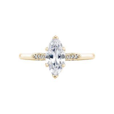 Tacori 2651MQ10X5-Y Simply Tacori Yellow Gold Marquise Engagement Ring