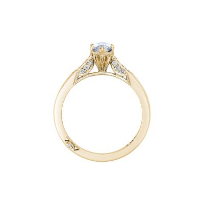 Tacori 2651MQ10X5-Y Yellow Gold Marquise Engagement Ring side