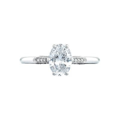 Tacori 2651OV Simply Tacori White Gold Oval Engagement Ring