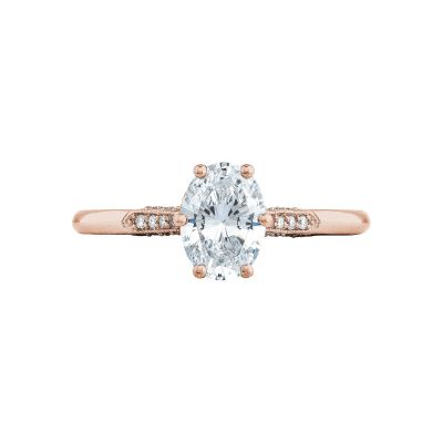 Tacori 2651OV75X55-PK Simply Tacori Rose Gold Oval Engagement Ring