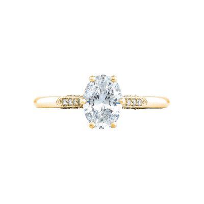 Tacori 2651OV75X55-Y Simply Tacori Yellow Gold Oval Engagement Ring