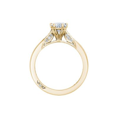 Tacori 2651OV75X55-Y Yellow Gold Oval Engagement Ring side