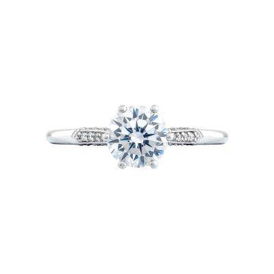 Tacori 2651RD Simply Tacori White Gold Round Engagement Ring