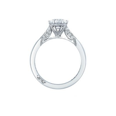 Tacori 2651RD White Gold Round Engagement Ring side
