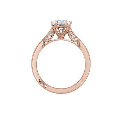 Tacori 2651RD65-PK Rose Gold Round Engagement Ring side