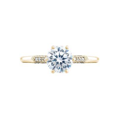Tacori 2651RD65-Y Simply Tacori Yellow Gold Round Engagement Ring