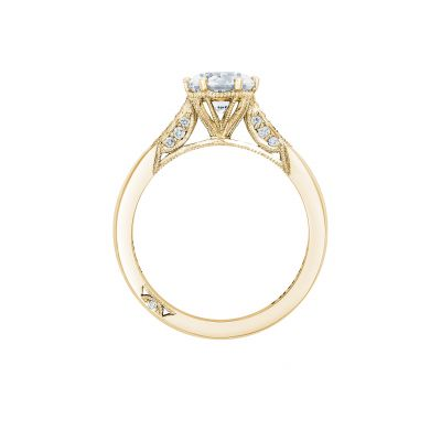 Tacori 2651RD65-Y Yellow Gold Round Engagement Ring side