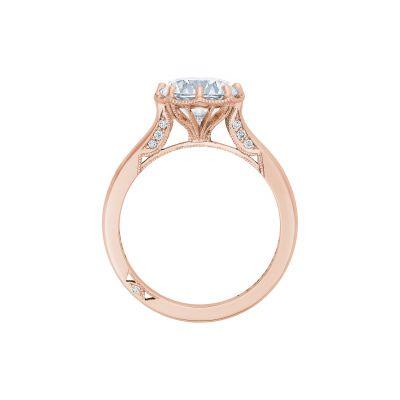 Tacori 2652RD8-PK Rose Gold Round Engagement Ring side