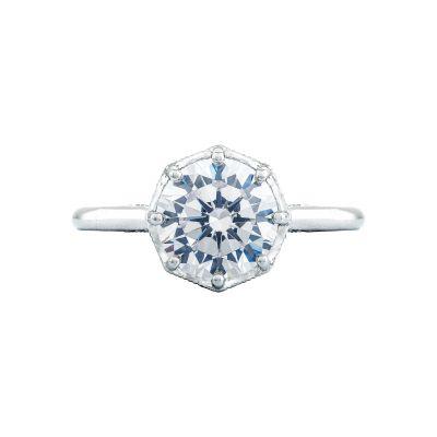 Tacori 2652RD8 Simply Tacori Platinum Round Engagement Ring