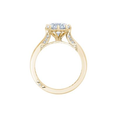 Tacori 2652RD8-Y Yellow Gold Round Engagement Ring side