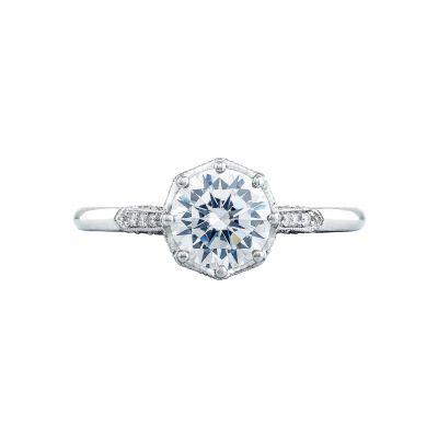 Tacori 2653RD Simply Tacori White Gold Round Engagement Ring