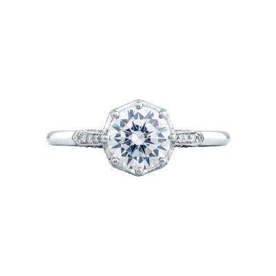 Tacori 2653RD65 Simply Tacori Platinum Round Engagement Ring