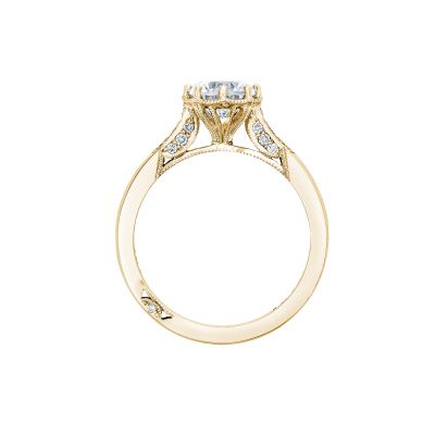 Tacori 2653RD65-Y Yellow Gold Round Engagement Ring side