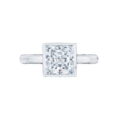 Tacori 300-25PR-7 Starlit Platinum Princess Cut Engagement Ring
