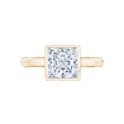 Tacori 300-25PR-7Y Starlit Yellow Gold Princess Cut Engagement Ring