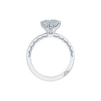 Tacori 300-25PR White Gold Princess Cut Engagement Ring side
