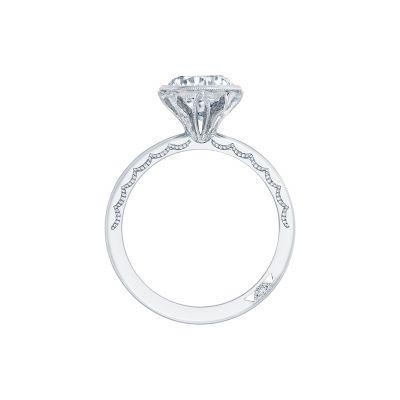 Tacori 300-25RD-8 Platinum Round Engagement Ring side