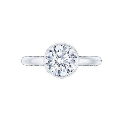 Tacori 300-25RD-8 Starlit Platinum Round Engagement Ring