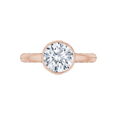 Tacori 300-25RD-8PK Starlit Rose Gold Round Engagement Ring