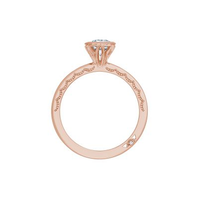 Tacori 300-2MQ-11X55PK Rose Gold Marquise Engagement Ring side