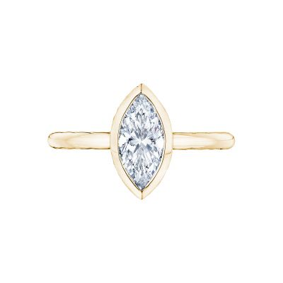 Tacori 300-2MQ-11X55Y Starlit Yellow Gold Marquise Engagement Ring