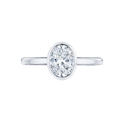 Tacori 300-2OV-8X6 Starlit Platinum Oval Engagement Ring