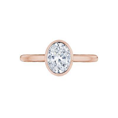 Tacori 300-2OV-8X6PK Starlit Rose Gold Oval Engagement Ring