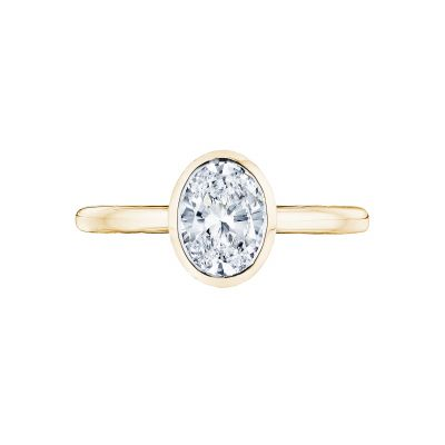 Tacori 300-2OV-8X6Y-100 Starlit Yellow Gold Oval Engagement Ring