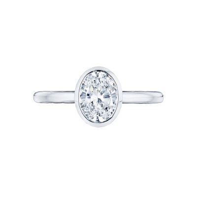 Tacori 300-2OV Starlit White Gold Oval Engagement Ring