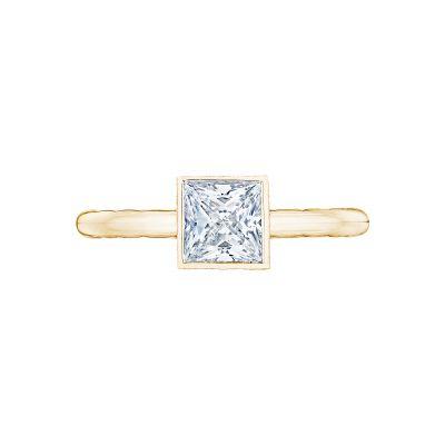 Tacori 300-2PR-45Y Starlit Yellow Gold Princess Cut Engagement Ring