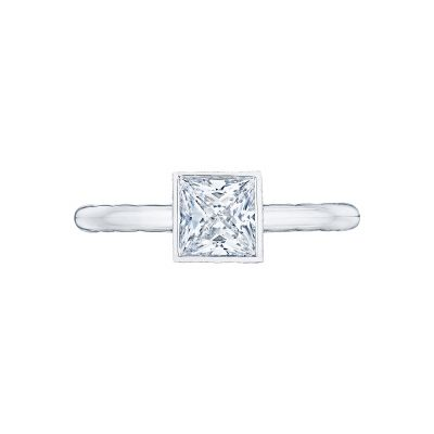 Tacori 300-2PR Starlit White Gold Princess Cut Engagement Ring