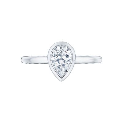 Tacori 300-2PS-85X55 Starlit Platinum Pear Shaped Engagement Ring