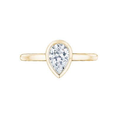 Tacori 300-2PS-85X55Y Starlit Yellow Gold Pear Shaped Engagement Ring