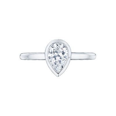 Tacori 300-2PS Starlit White Gold Pear Shaped Engagement Ring