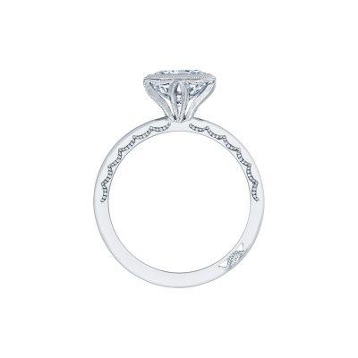 Tacori 300-2RD-55 Platinum Round Engagement Ring side