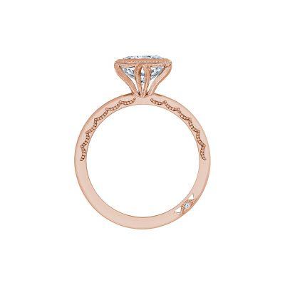 Tacori 300-2RD-55PK Rose Gold Round Engagement Ring side
