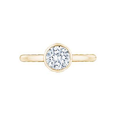 Tacori 300-2RD-55Y Starlit Yellow Gold Round Engagement Ring