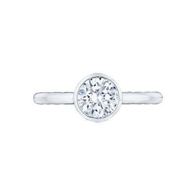 Tacori 300-2RD Starlit White Gold Round Engagement Ring