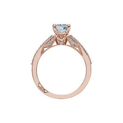 Tacori 3001-PK Rose Gold Round Engagement Ring side