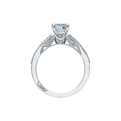 Tacori 3001 Platinum Round Engagement Ring side