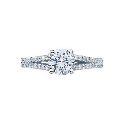 Tacori 3001 Simply Tacori Platinum Round Engagement Ring