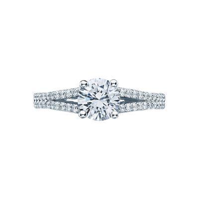 Tacori 3001-W Simply Tacori White Gold Round Engagement Ring