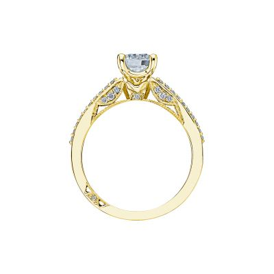 Tacori 3001-Y Yellow Gold Round Engagement Ring side