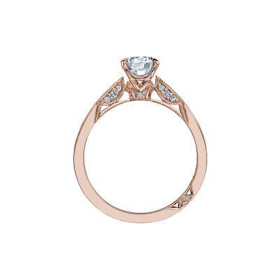 Tacori 3002-PK Rose Gold Round Engagement Ring side