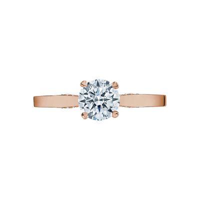 Tacori 3002-PK Simply Tacori Rose Gold Round Engagement Ring