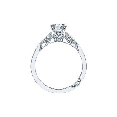 Tacori 3002-W White Gold Round Engagement Ring side