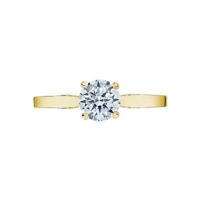 Tacori 3002-Y Simply Tacori Yellow Gold Round Engagement Ring