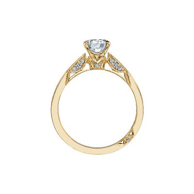 Tacori 3002-Y Yellow Gold Round Engagement Ring side
