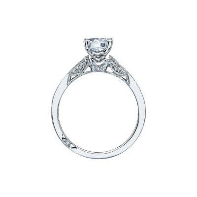 Tacori 3003 Platinum Round Engagement Ring side